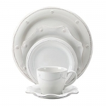 Berry & Thread Whitewash Five Piece Place Setting