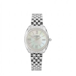 Bloomsbury Stainless Steel & Crystal Watch