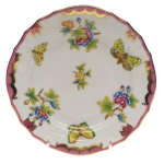 Queen Victoria Raspberry Bread and Butter Plate