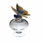 Crystal Butterfly Perfume Bottle