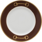Cheval Chestnut Brown Bread and Butter Plate