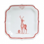 Country Estate Reindeer Games Rudolph Party Plate