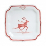 Country Estate Reindeer Games Dancer Party Plate