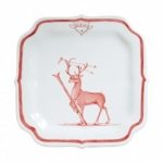 Country Estate Reindeer Games Dasher Party Plate