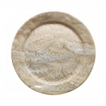 Firenze Cappuccino Charger Plate