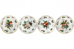 Duke of Gloucester Dinner Plates, Set of Four
