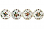 Duke of Gloucester Dessert Plates, Set of Four