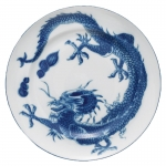 Blue Dragon Dessert Plate