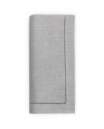 Festival Grey Dinner Napkins, Set of Four