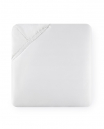 Giotto White Queen Fitted Sheet