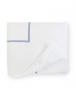 Grande Hotel White/Navy King Duvet Cover