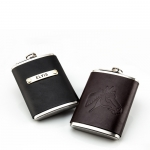 Custom Leather Flask