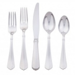 Kensington Bright Satin Five Piece Place Setting