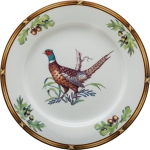 Game Birds Pheasant Dinner Plate