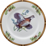 Game Birds Bob White Quail Salad Plate