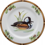 Game Birds Hooded Merganser Salad Plate