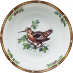 Game Birds Woodcock Serving Bowl