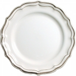 Filet Taupe Dessert Plate