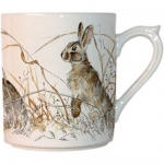 Sologne Mug with Rabbit