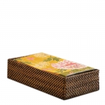 Rattan Napkin or Guest Towel Holder