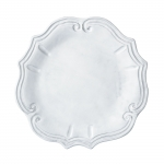 Incanto White Baroque Dinner Plate