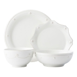 Berry & Thread Whitewash 4 Piece Place Setting