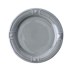 French Panel Stone Grey Dessert/Salad Plate