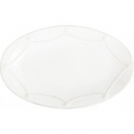 Berry & Thread Whitewash Medium Oval Platter