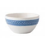 Le Panier White/Delft Cereal/Ice Cream Bowl