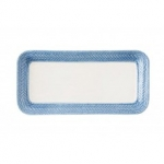 Le Panier White/Delft Hostess Tray