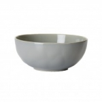 Puro Mist Grey Crackle Cereal/Ice Cream Bowl