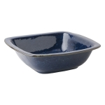 Puro Dappled Cobalt 12.5\ Rounded Square Serving Bowl