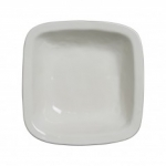 Puro Whitewash Rounded Square 12.5\ Serving Bowl