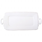Lastra White Handled Rectangular Platter