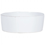 Lastra White Large Serving Bowl