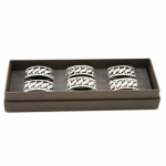 Napkin Rings, Box of Six