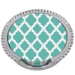 Lilly Beaded Coaster Set