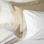 Luca White Full/Queen Flat Sheet