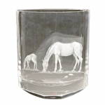 Horse and Colt Vase