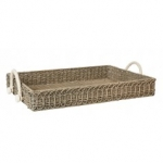 Waveney Wicker Rectangular Tray