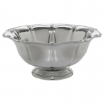 Berry & Thread Footed Metal Bowl