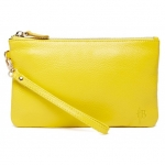 Mighty Purse Squeaky Yellow Wristlet