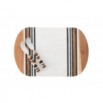 Stonewood Stripe Serving Board & 2 Spreaders