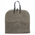 Waxed Canvas Olive Voyager Garment Bag