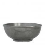 Pewter Stoneware Berry Bowl