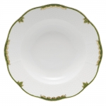 Princess Victoria Dark Green Rim Soup Bowl