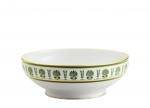 Palmette Emerald Salad Bowl