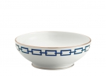 Catena Blue Salad Bowl