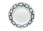 Catene Blue Bread Plate