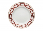 Catene Red Bread Plate